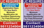 L.I.C OF INDIA REQUIRES INSURANCE ADVISORS