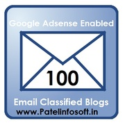 Email Classified Blogs with Google Adsense