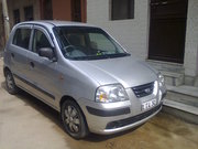 Santro-Xing Top Model Car with CNG fitted avaialble for sale