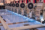 Your embroidery production like never before: Camfive Flat and compute