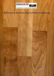 American Cherry Solid Wood Flooring in Delhi India