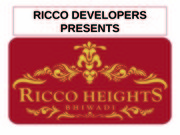 Ricco Heights offers Residential apartments in Bhiwadi