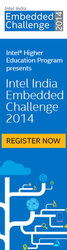 Intel India Challenge 2014 - an embedded design contest for students