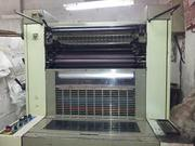 ADAST DOMINANT 725CP,  1997 MODEL 2/COLOR OFFSET PRINTING MACHINE