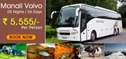Manali Volvo Tour Packages from Delhi