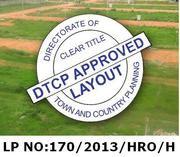 200 SQ YARDS PLOT FOR SALE IN HYDERABAD FOR 2500