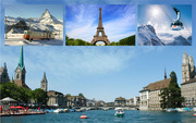 Budget Group Tour packages for Paris Switzerland 2015 from Delhi India