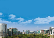 There are plenty of luxurious offices and commercial spaces in Gurgaon