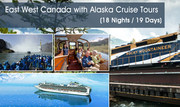 East West Canada with Alaska Cruise Tours 2015 for Jain