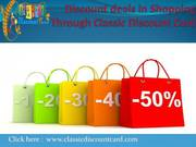 Classic Discount Card Advertising in Delhi Through Online and Offline