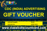 Capital Discount Card with Free Gift Vouchers in Shopping