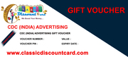 Free Gift Vouchers in Shopping with Classic Plus Discount card