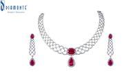Soundarya Tanmaniya Pendant in Diamond