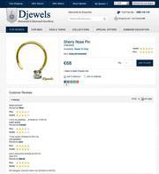 Diamond Jewellery  - Diamond Nose Pin