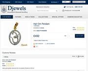 Djewels - Hari Om Diamond Pendant