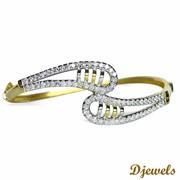 Djewels - Marian Diamond Bracelets with Hallmarked Gold
