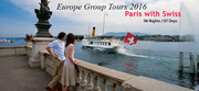 Swiss Paris Holiday Packages 2016 from Delhi India