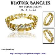 Djewels - diamond wedding bangles for sale