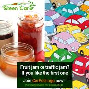 Why carpooling in delhi