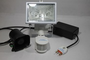 Security Light with wireless Hooter
