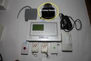 10 zone wireless system with Wireless Hooter