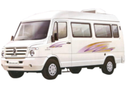 Luxury sofa 9 to 20 seater tempo traveller