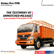 Eicher Pro 1110-The Testimony of Unmatched Mileage