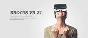 BROCUS VR Z1 inspired by Samsung vr gear,  google cardboard and oculus