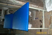 Examination Table Metallic 2 Section