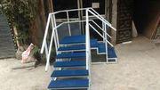Rehabilitation Staircase Corner Metallic model