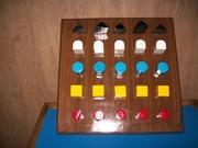 Multi Shaped Peg Board