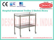 Hospital Dressing Trolley Manufacturers | DESCO