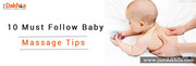 10 Must Follow Baby Massage Tips