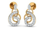 Shop Diamond and Gold Earrings for Women - Jewelslane