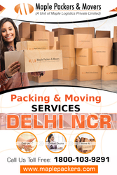 Packers and Movers Delhi NCR | Maple Packers