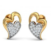 Shop Carys Heart Earrings Online - Jewelslane
