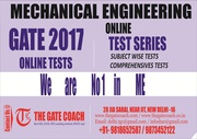 Online Test Series for Mechanical Engg GATE 2017 is starting from 19th
