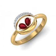 Buy Chiti Ruby Diamond Ring online