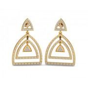 Shop Designer Zulaikha Diamond Earrings at Jewelslane