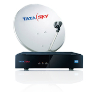 Tata Sky HD Set Top Box With 1 Month Pack.