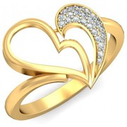 Xclusiveoffer Exciting Gifts Valentine Day Gold Diamond Rings