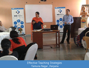 Teacher training program with Skills Development