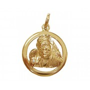 Shop Beautiful Sai Baba Diamond Pendant Online at Jewelslane