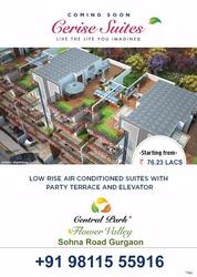 Central Park Cerise Suites Gurgaon Offers 2BHK+Study Luxury Flats