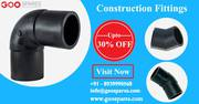 Construction Pipe and fittings Upto 30% OFF online-Goospares