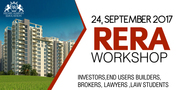 RERA Workshop On 24th September Sunday In Delhi