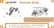 Extension Springs | Wire Forms springs - Kalyani Springs