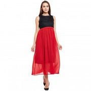 Browse through the trendy styles of flare dresses at IndiaRush
