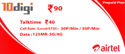 Mobile Recharge Online by 10Digi