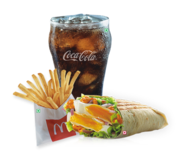 McDonald's menu is luxurious and affordable!